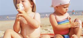 Заштита на бебињата и децата од сончевите зраци